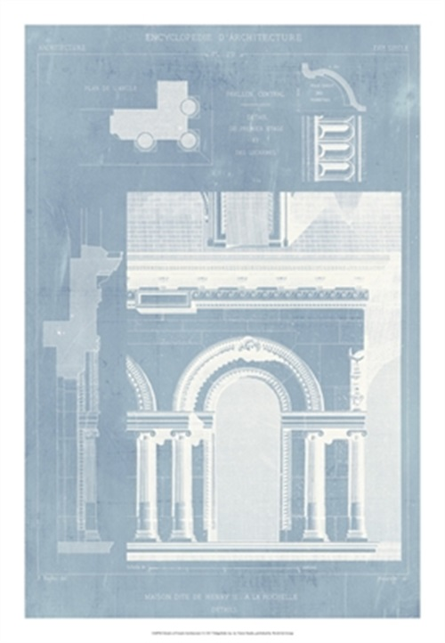 Details Of French Architecture I