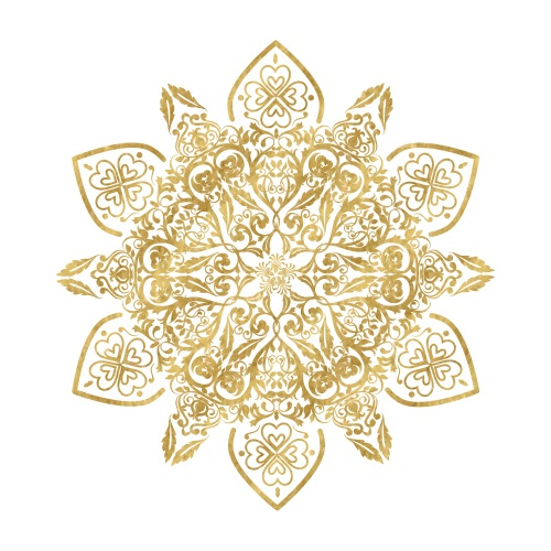 Golden Mandala III