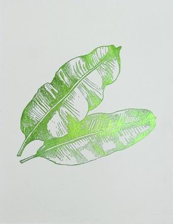 Green Foil Leaf Collection VX
