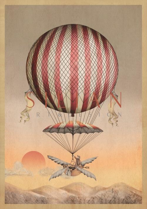 Vintage Hot Air Balloons III