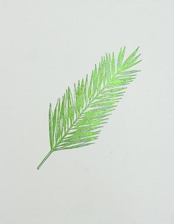 Green Foil Leaf Collection IV