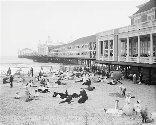 Steel Pier,Atlantic City,NJ,C.1904
