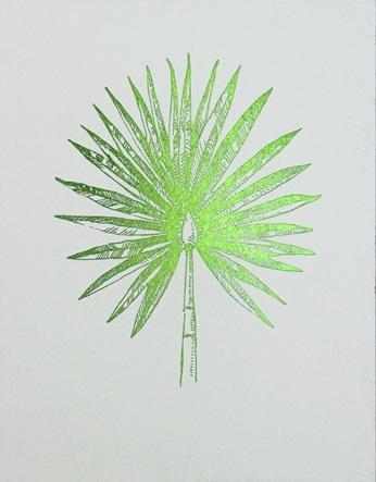 Green Foil Leaf Collection VI