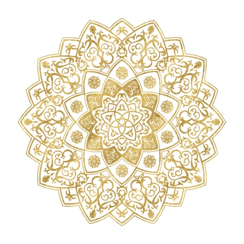 Golden Mandala I