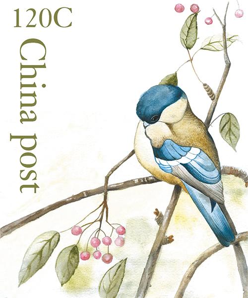 Watercolor Birds Stamps Ⅰ