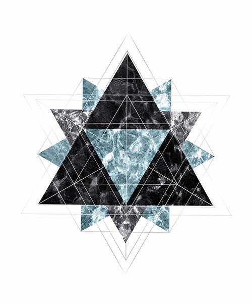 Starry Sky In Snowflake V