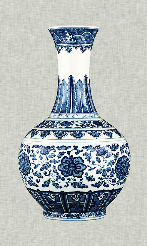 Blue And White Porcelain Decoration III