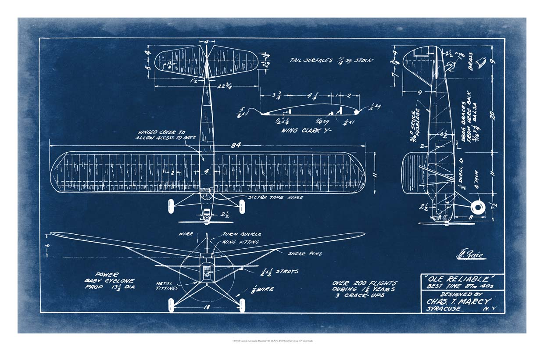 Aeronautic Blueprint VI