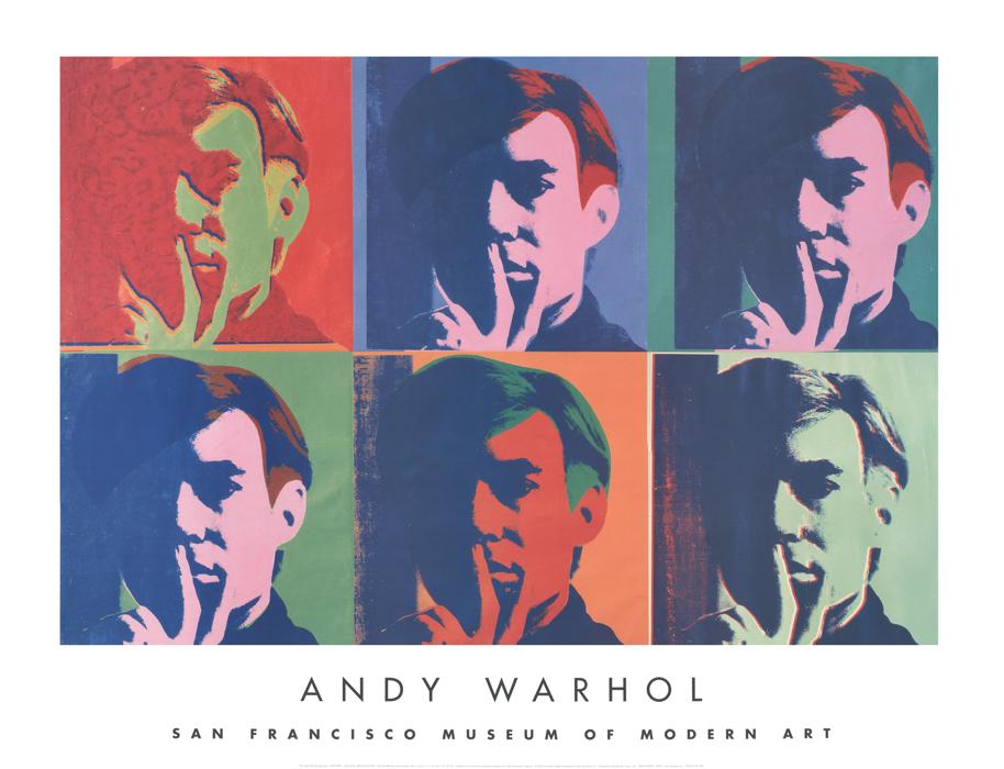 A Set of Six Self-Portraits, 1967
