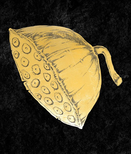 Gold Foil Lotus III