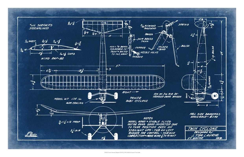Aeronautic Blueprint VII