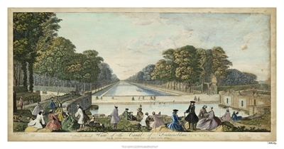 View of Fontainebleau IV