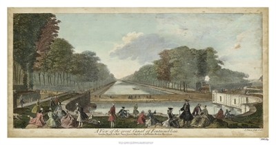 View of Fontainebleau I