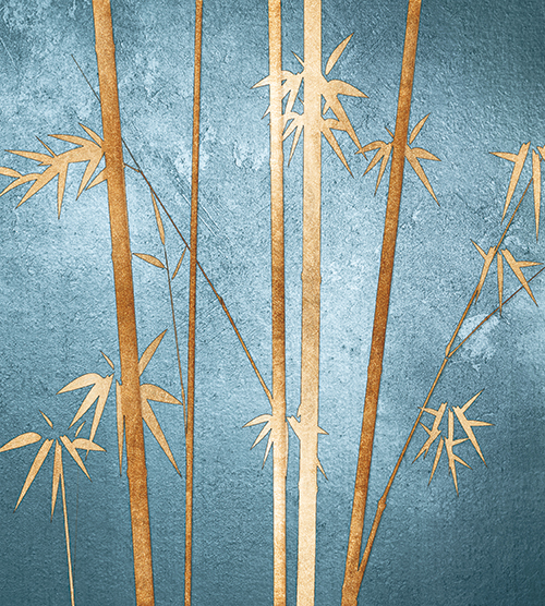 Golden Bamboo Tree III