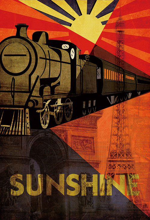 The Train Poster Ⅱ