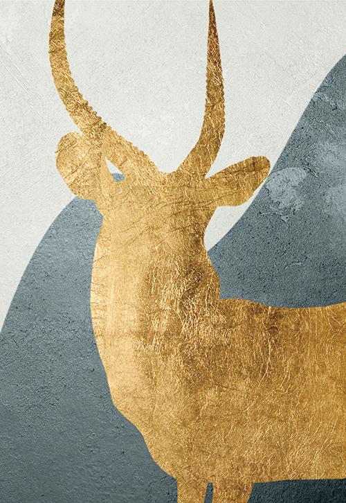 Gold Deer II