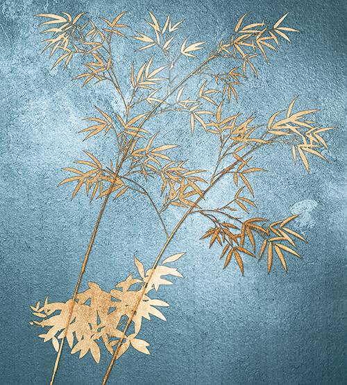 Golden Bamboo Tree II