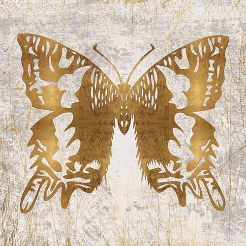 Gold Butterfly Combination III