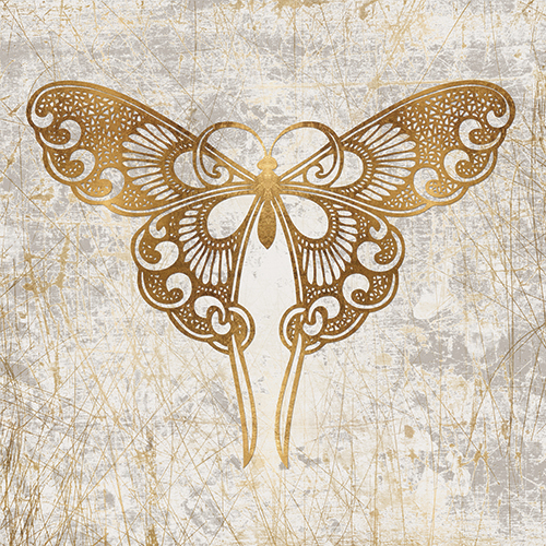 Gold Butterfly Combination IV