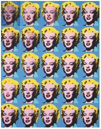 Twenty-Five Colored Marilyns