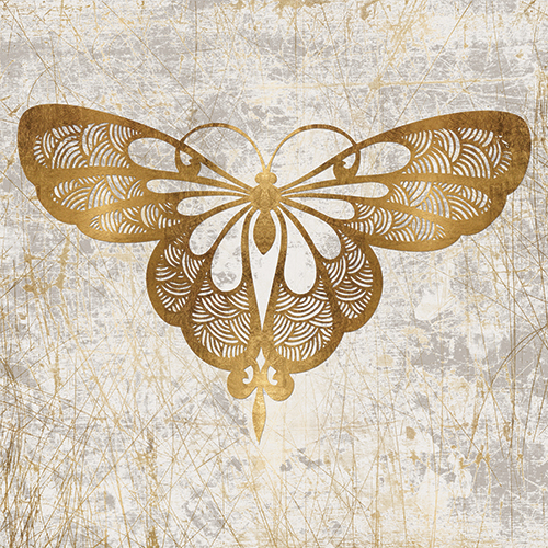 Gold Butterfly Combination II