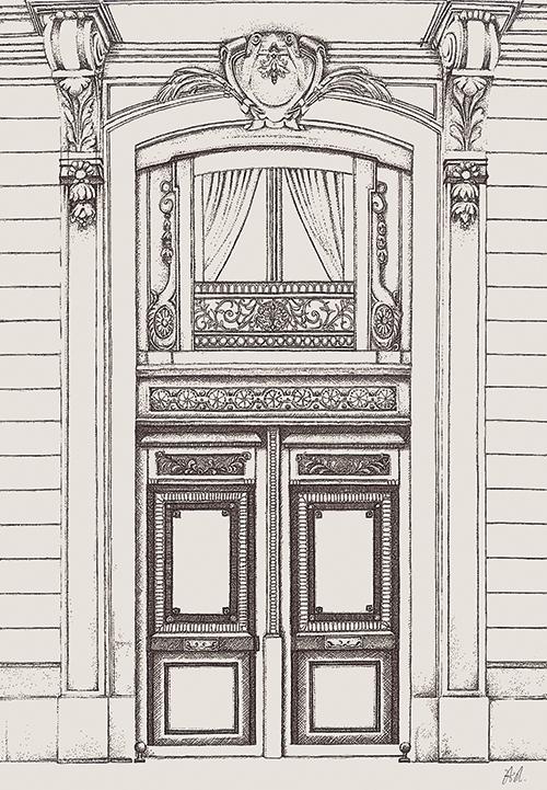 Antique Decorative Gate Ⅰ