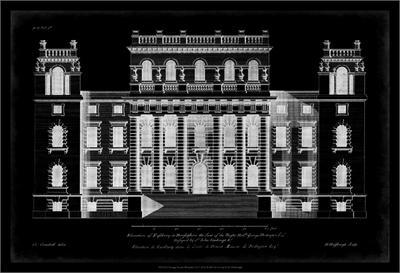 Vintage Facade Blueprint Ⅵ