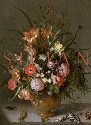 Jacob Marrel, Flowers in a vase