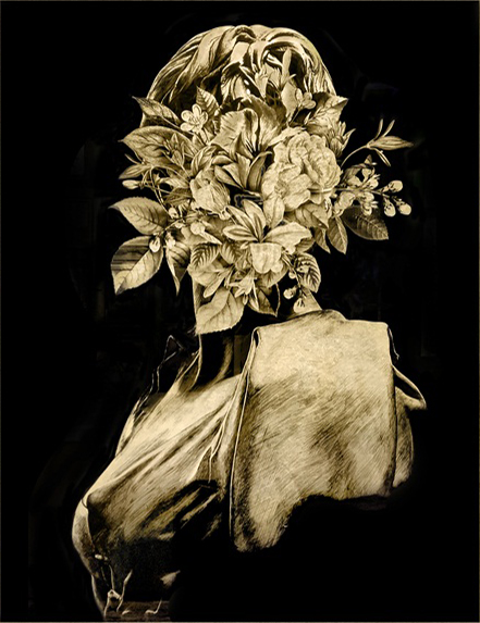 Flowers and Plaster II