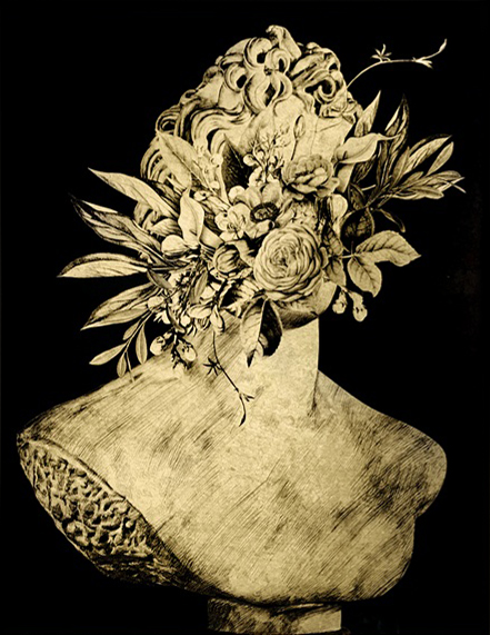 Flowers and Plaster I