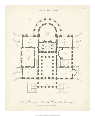 Plan For A Mansion