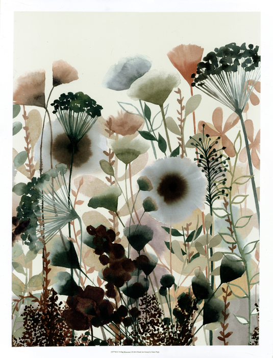 Twilight Blossoms I