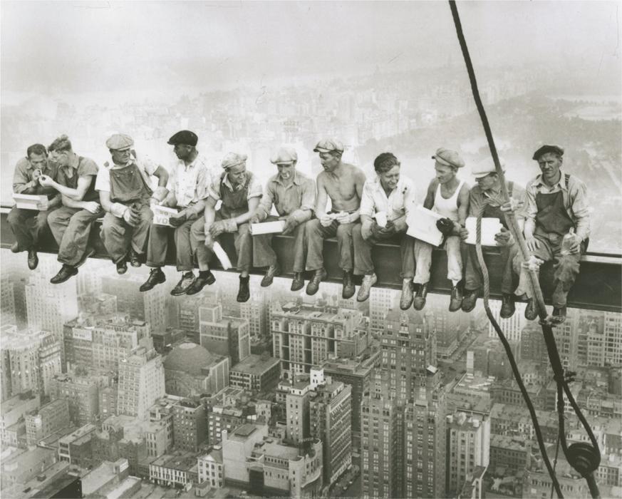 Lunch On A Skyscraper, 1932
