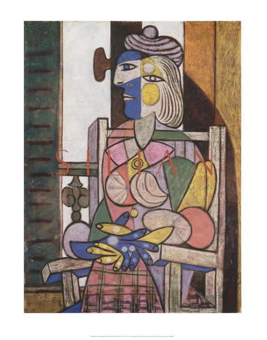 Femme assise devant la fenetre