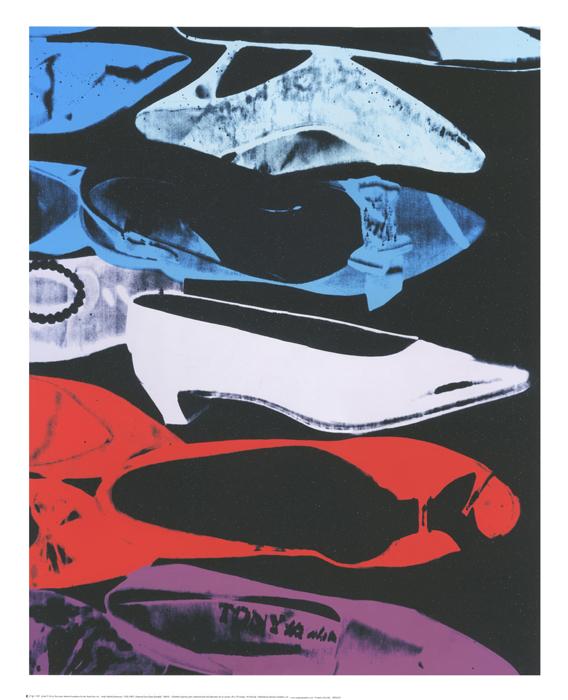 Diamond Dust Shoes (Parallel), 1980-81