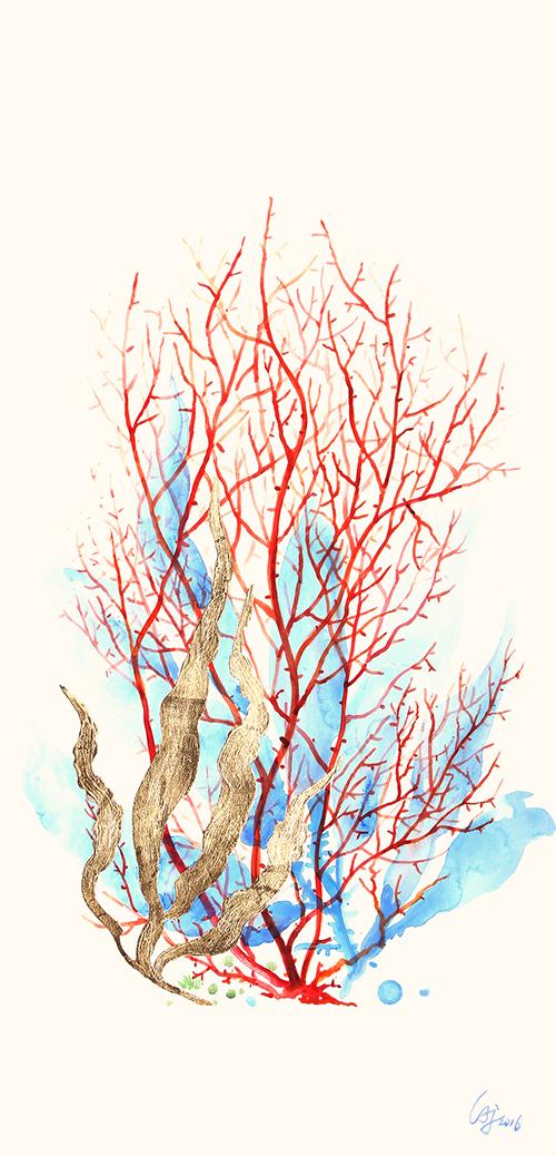 Colored Coral Ⅰ