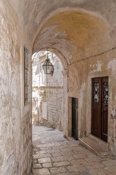 Quiet Passageway - Kotor, Montenegro