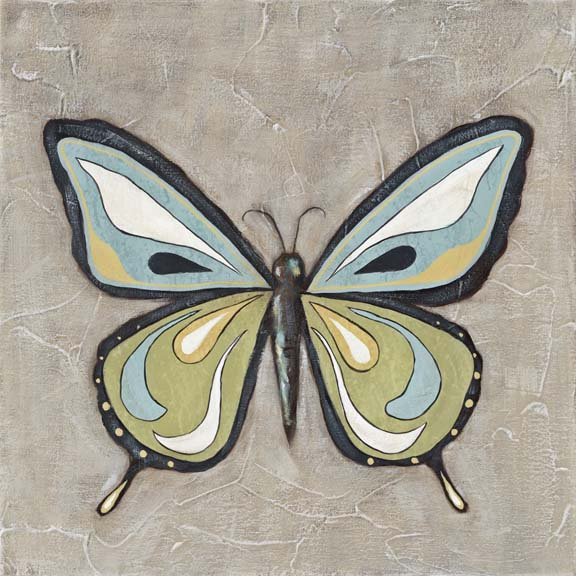 Graphic Spring Butterfly I