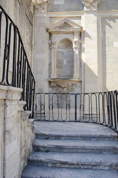 Courtyard Splendor - Dubrovnik, Croatia