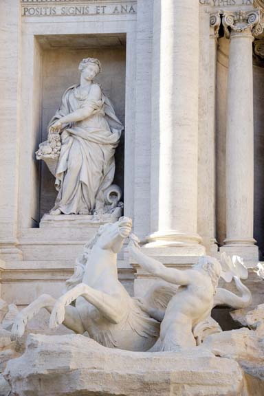 Trevi Fountain in Afternoon Light II
