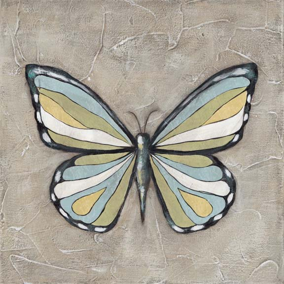 Graphic Spring Butterfly II