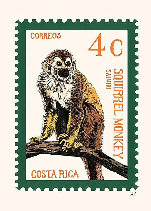 Animal Stamp Card Ⅳ