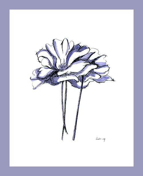 Sketch of flowers Ⅰ
