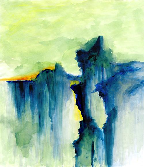 Watercolor of Dance VI