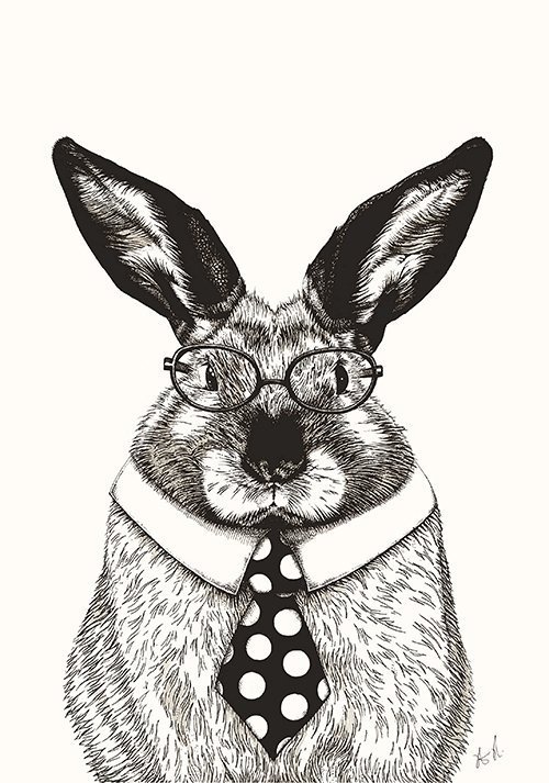 The Rabbit With A Tie