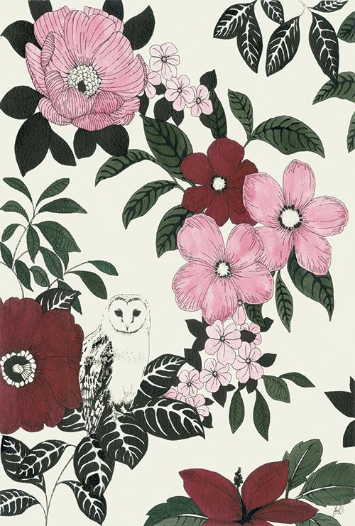 Blossom Owl Ⅰ