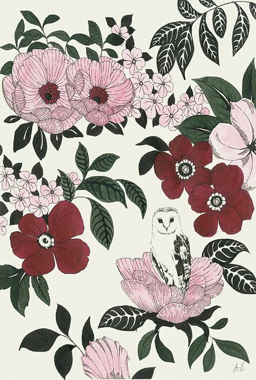 Blossom Owl Ⅱ