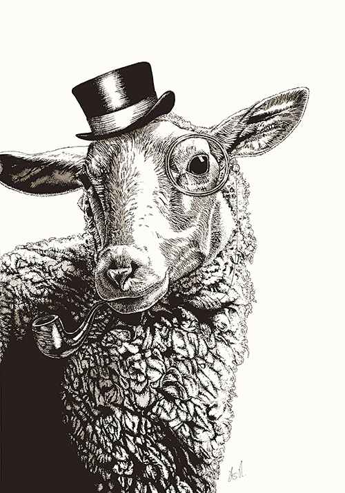 The Sheep in A Hat