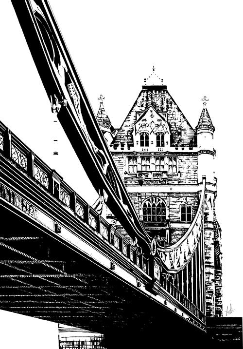 Hand Painted Bridge