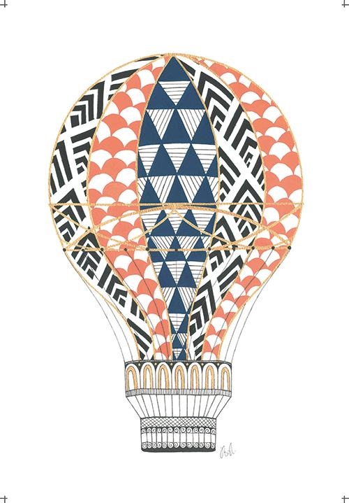 Flight of The Hot Balloon Ⅷ